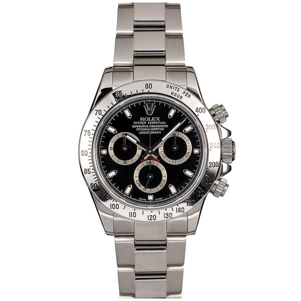 Bob's Watches Rolex 40mm Stainless Steel Daytona
