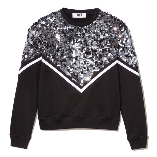 MSGM Sequin Sweatshirt