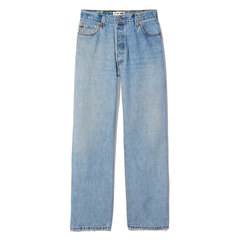Ultra-High-Rise Straight Leg Jeans