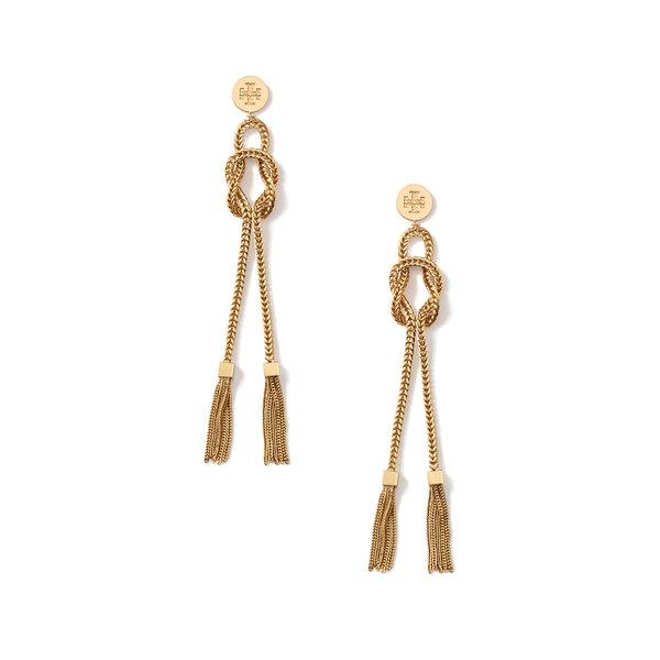 Tory Burch Chain Tassel Earrings