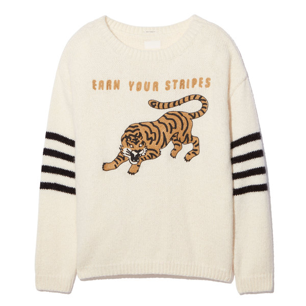 MOTHER Earn Your Stripes Jumper