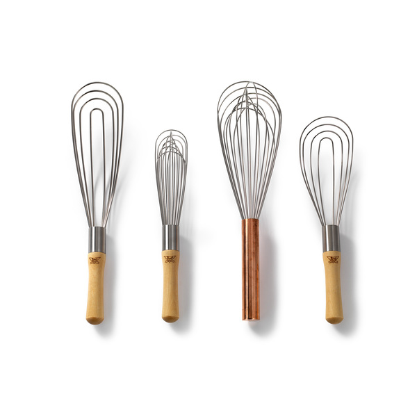 "BEST WHIPS 12"" Copper Handle Whisk"