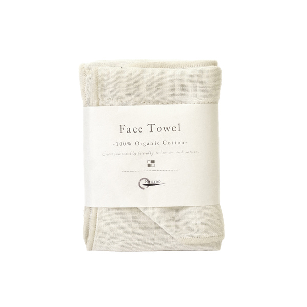 Nawrap  Organic Cotton Face Towel