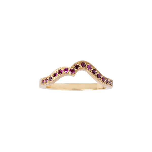 Michelle Fantaci Ruby Onda Ring