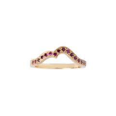 Ruby Onda Ring