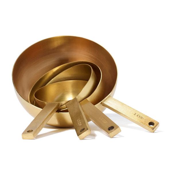 JUNE Gold Measuring Cups, Set of 4