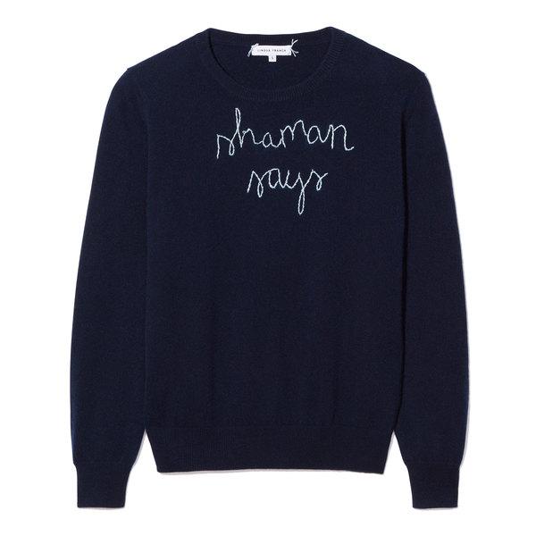 Lingua Franca Shaman Says Sweater