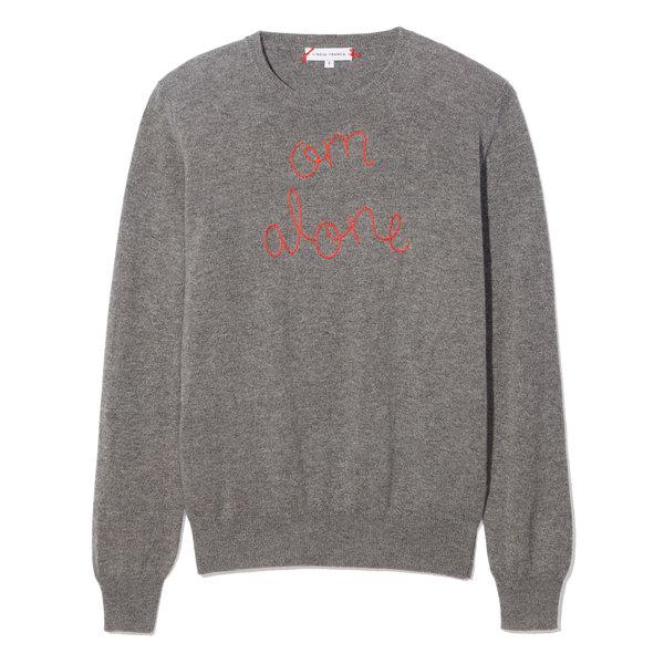 Lingua Franca Om Alone Sweater