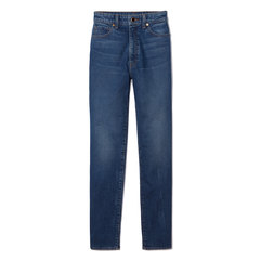 Vanessa High-Rise Straight Jeans