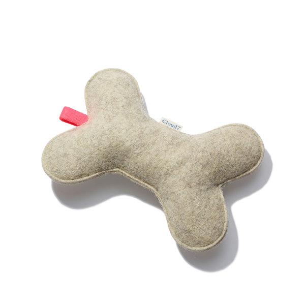 Cloud7 Felt Dog Toy Bone