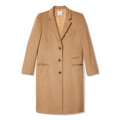 Gwyneth Camel Crombie Coat
