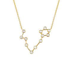 Pisces Diamond Constellation Necklace