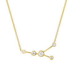 Cancer Diamond Constellation Necklace