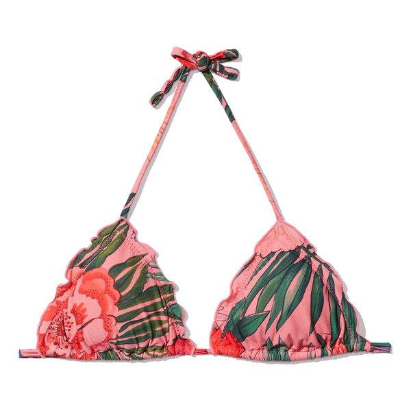 Salinas Adele Ambra Triangle Bikini Top