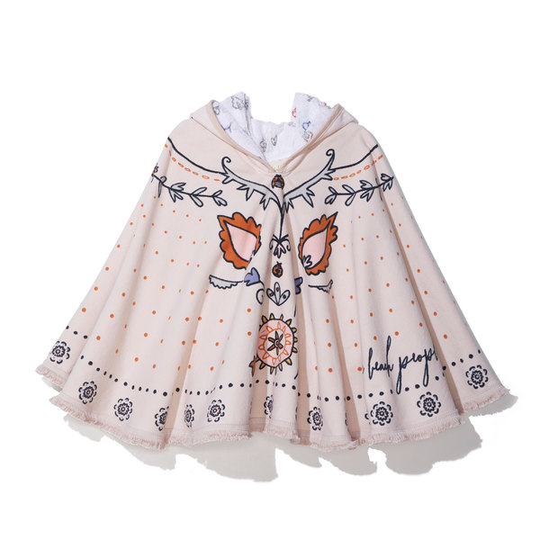 The Beach People Butterfly Poncho