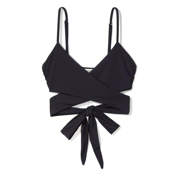Mara Hoffman Mila Wrap Around Bikini Top