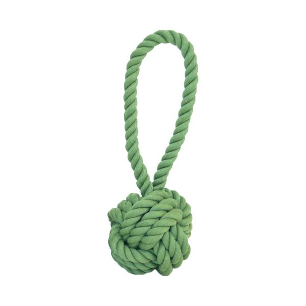 Harry Barker  Green Rope Tug & Toss