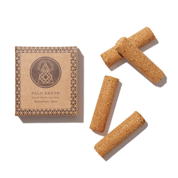 Incausa Palo Santo Wood Hand-Pressed Incense