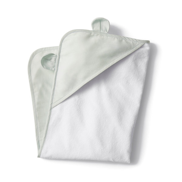 Coyuchi  Hooded Baby Sateen Terry Towel