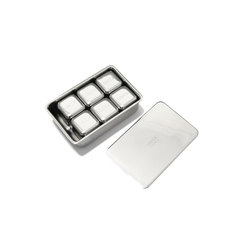 Stainless Steel Drink Cubes, Set of 6