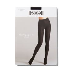 'Mat Opaque 80' Pair of Tights