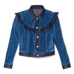 Velvet Denim Jacket
