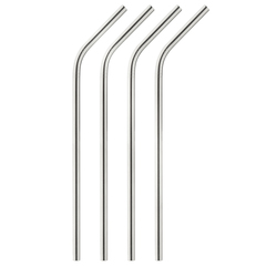 Stainless Steel Straws, Set of 4