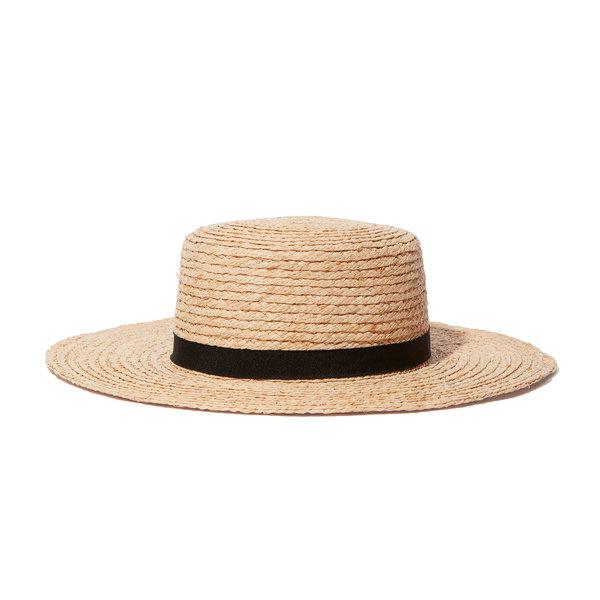 Hat Attack Raffia Braid Boater