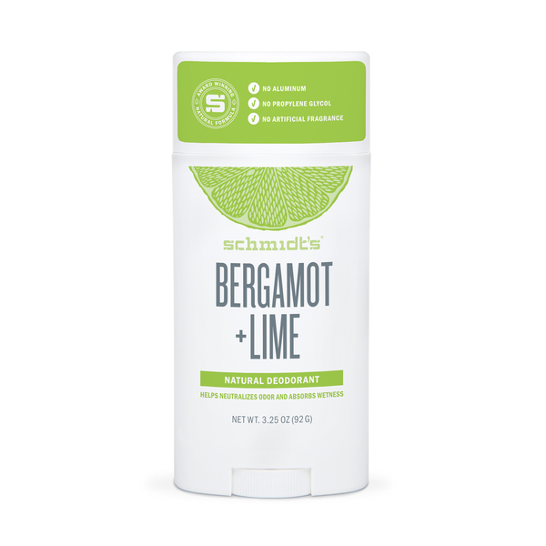 Schmidt's Bergamot + Lime Deodorant
