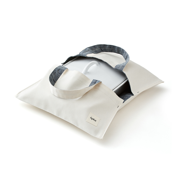Aplat Plat Organic Cotton Culinary Wide Tote