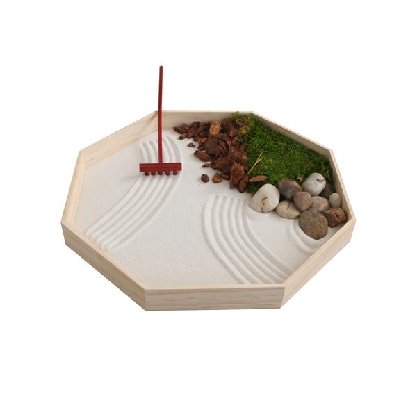 Cultural Elements Modern Geometric Zen Garden