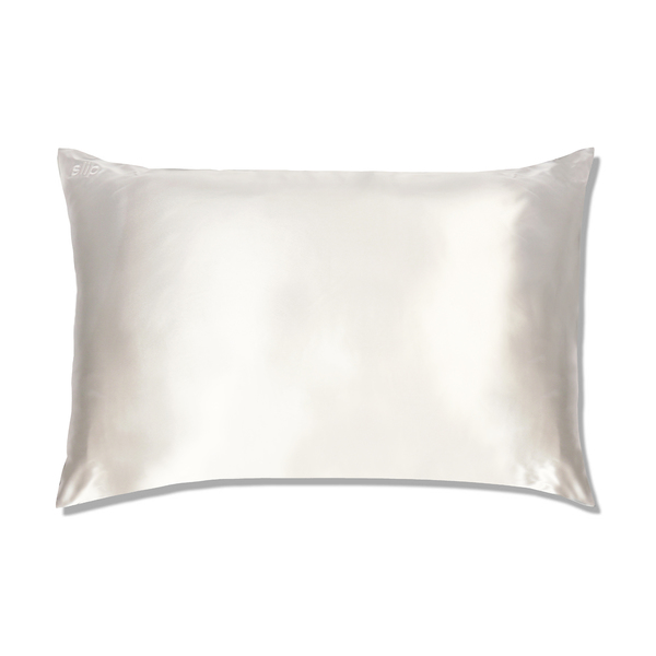 Slip White Queen Pillow Case