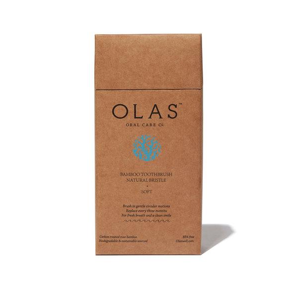 OLAS OLAS Bamboo Toothbrush - Case of 12