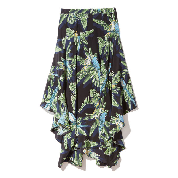 Stella McCartney Hawaiian Floral Skirt