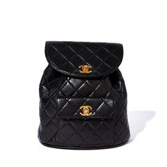 Chanel Vintage Lambskin Backpack