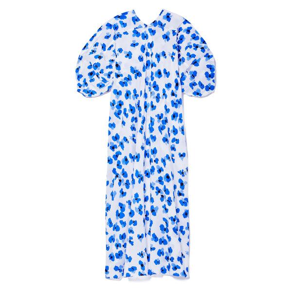 Lemaire Floral Silk Blouse Dress