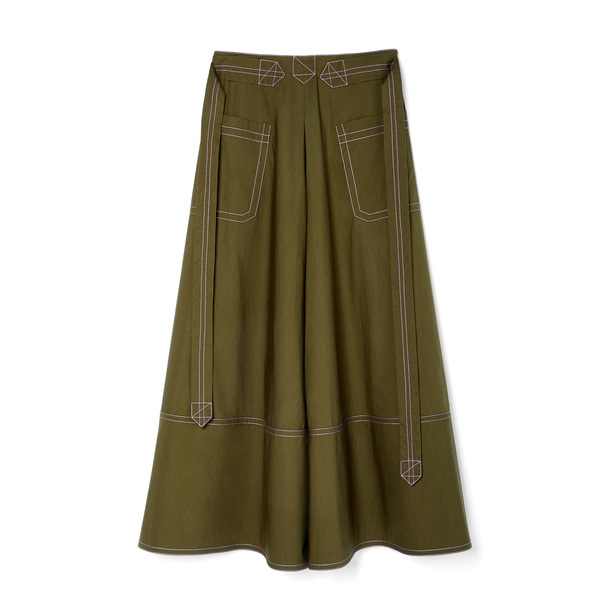 Marni Poplin Cotton Skirt