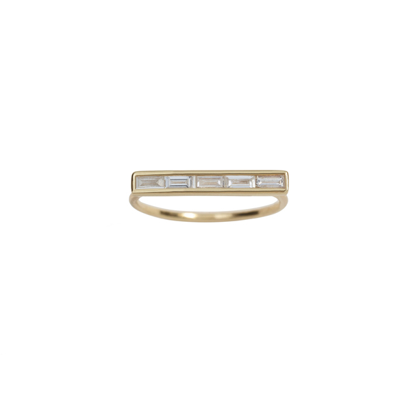 Ariel Gordon Baguette Diamond Ring