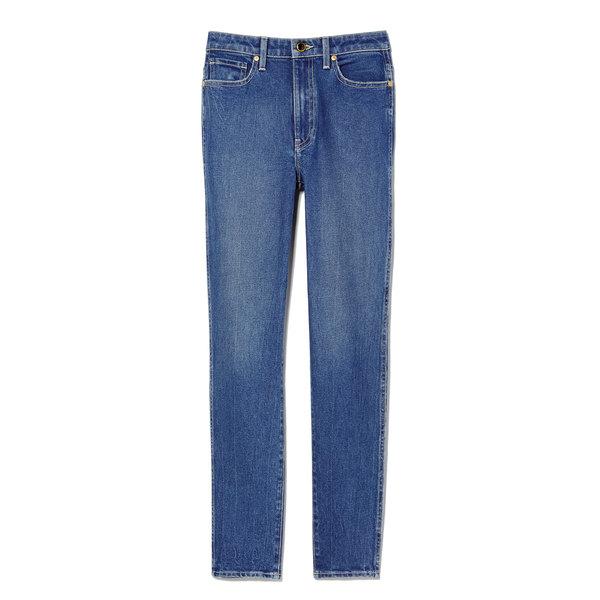 Khaite Vanessa High-Rise Straight Jeans