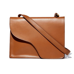 Siena Tan Leather Crossbody