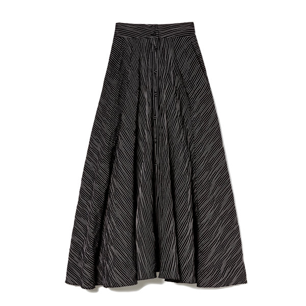 Co Button-Front Cotton Skirt