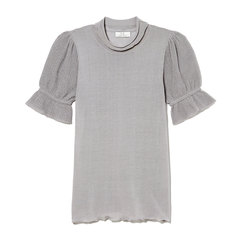 Short-Sleeve Cotton Knit