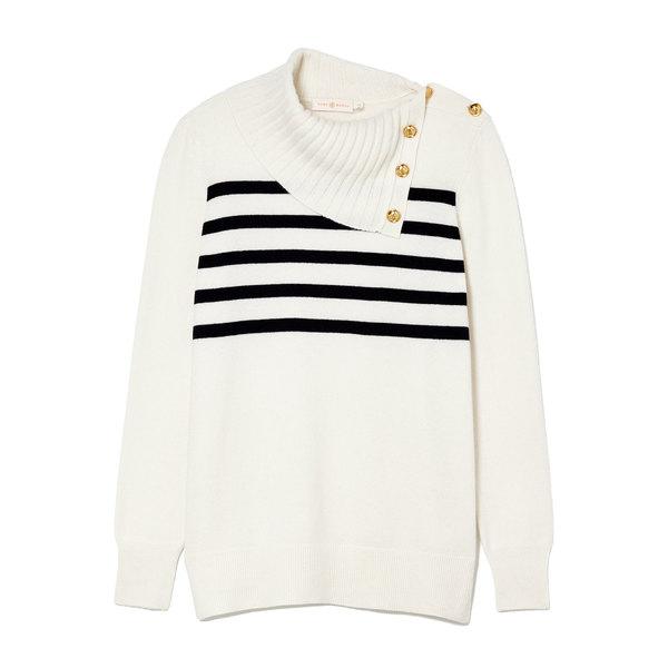 Tory Burch Sandra Cashmere Sweater