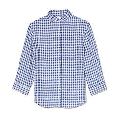 Quarter-Length Sleeve Oxford Shirt