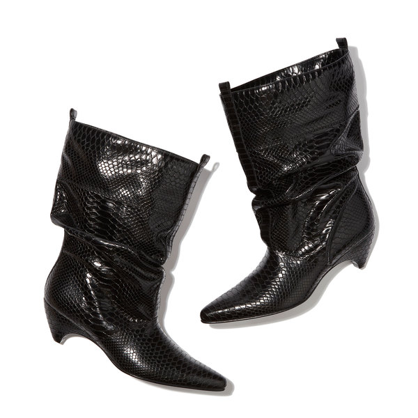 Stella McCartney Black Slouch Boots