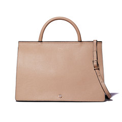 Grand Prism Leather Crossbody Tote