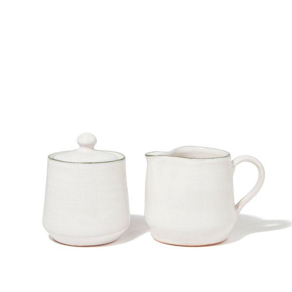 Il Buco Vita  Bevagna Creamer & Sugar Bowls