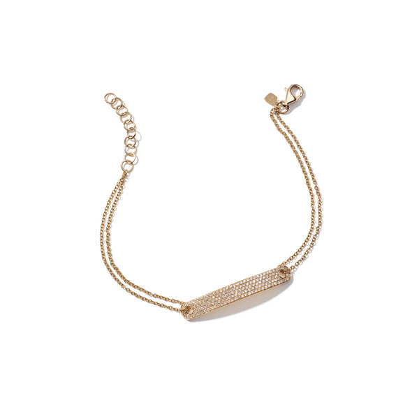 Anne Sisteron  Diamond ID Yellow-Gold Bracelet