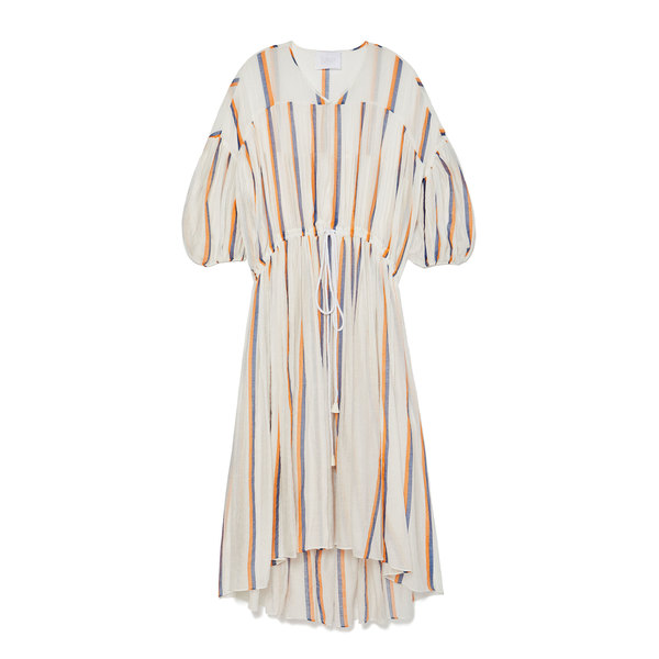 Love Binetti Monaco Striped Caftan Dress
