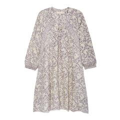 Fiore Floral Silk Mini Dress